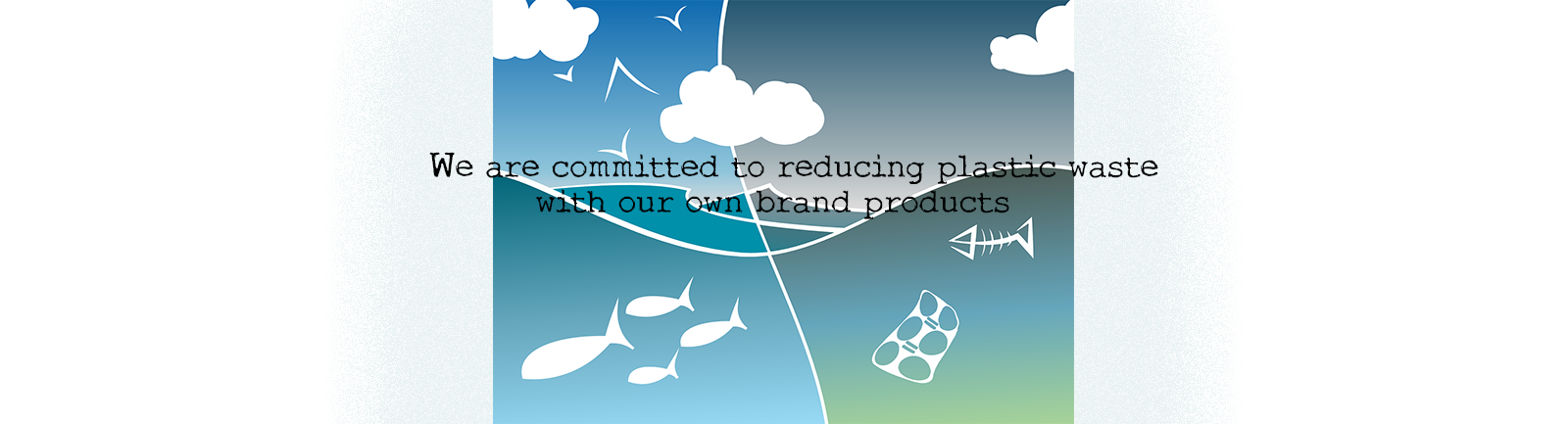 We are reducing plastic waste | Find out more