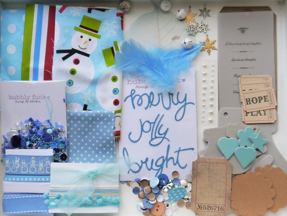 Through the Letterbox Craft Box - November