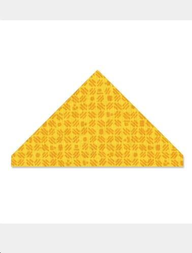 Sizzix Bigz Clear L - Quilting - Triangle