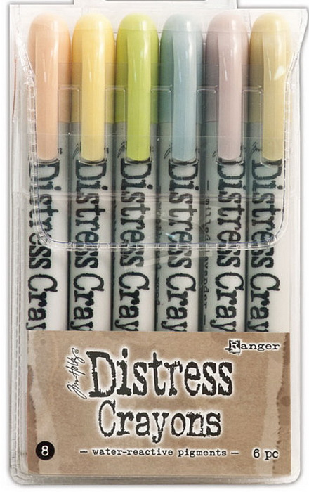 Distress Crayons - Set #8