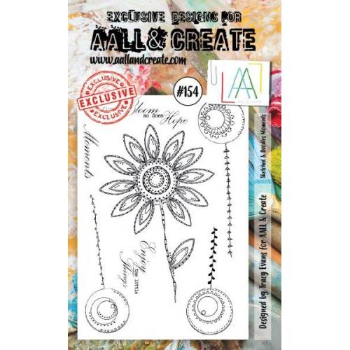 AALL & Create - Stamps - #154 Sketched & Doodled Moments