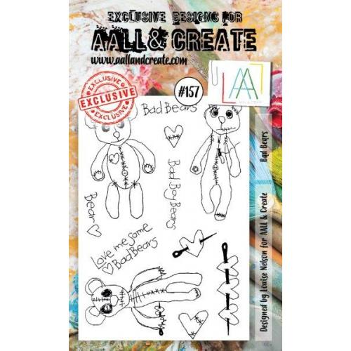 AALL & Create - Stamps - #157 Bad Bears