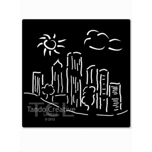 Tando Creative - Stencil - City Skyline