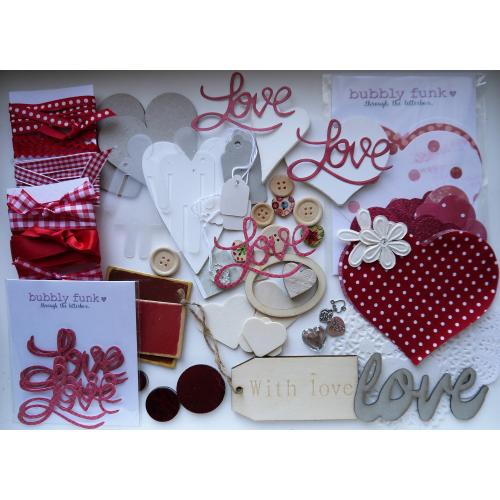 Letterbox Craft Box - Love is