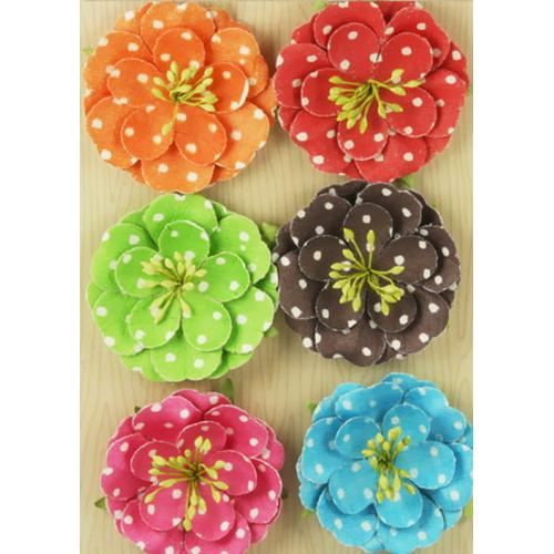 Flowers - Polka Dot Brights
